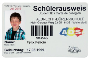 Schülerausweis